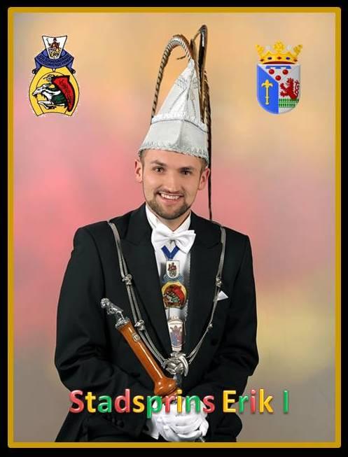 Stadsprins 2016: Erik I